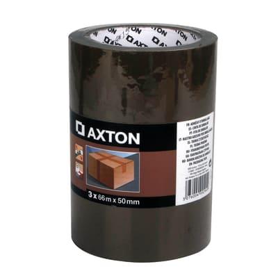 Nastro adesivo per imballaggio AXTON L 66 m x P 50 mm