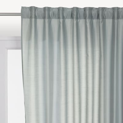 Tenda INSPIRE Silka grigio nastro tenda con anse nascoste 200.0 x 280.0 cm