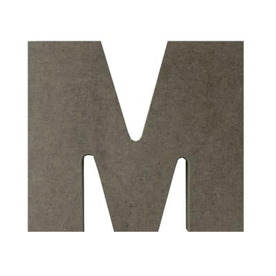 Scritta M 17x15 cm
