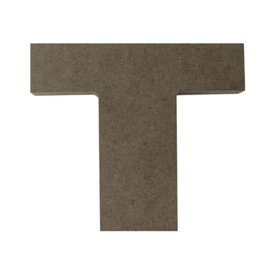 Lettere decorative T 17x15 cm