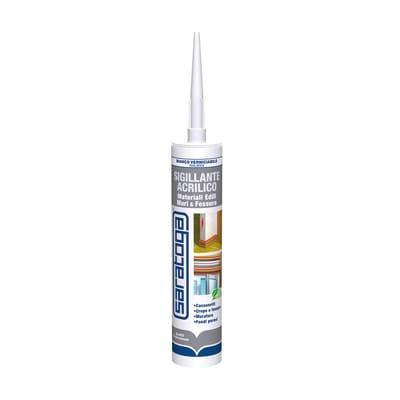 Sigillante SARATOGA Muri e Fessure bianco 280 ml