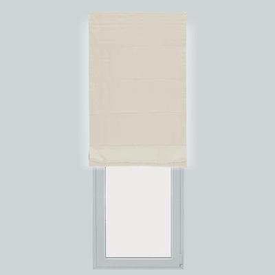 Tendina pieghevole in tessuto INSPIRE Annie ecru 60x250 cm