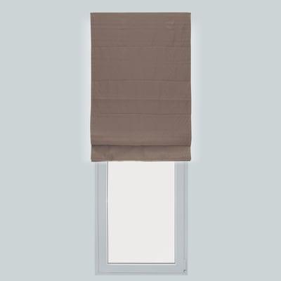 Tendina pieghevole in tessuto INSPIRE Annie tortora 120x250 cm