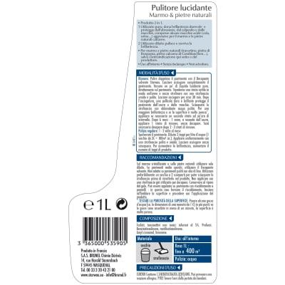 Pulitore liquido STARWAX Lucidante Marmo e Pietre Naturali 1