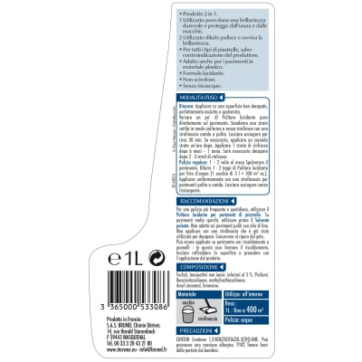 Detergente STARWAX lucidante per piastrelle 1 L