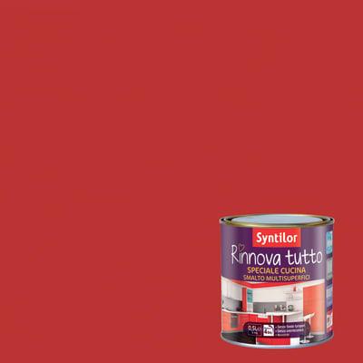 Smalto per mobili SYNTILOR Rinnova tutto rosso gazpacho 0.5 L