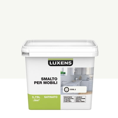 Pittura di ristrutturazione per mobili LUXENS per mobili bianco cool 2 0.75 L