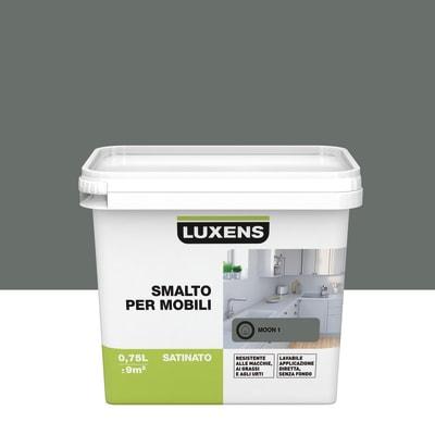 Pittura di ristrutturazione per mobili LUXENS per mobili grigio moon 1 0.75 L