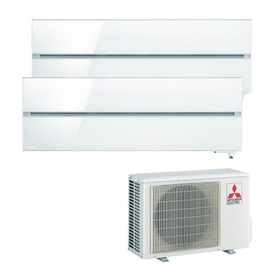 Climatizzatore dualsplit MITSUBISHI LN Wi-Fi bianco 11200 BTU classe A+++