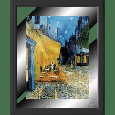 Quadro con cornice Terrazza 45.5x55.5 cm
