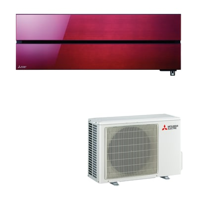 Climatizzatore monosplit MITSUBISHI LN Wi-Fi rosso 11942 BTU classe A+++