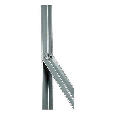 Palo in acciaio galvanizzato Saetta in angolare zincata 25x25mm L 2,5 x P 2.5 x H 200 cm