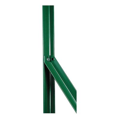 Palo in acciaio plastificato Saetta in angolare plastificata 25x25mm L 2,5 x P 2.5 x x H 120 cm