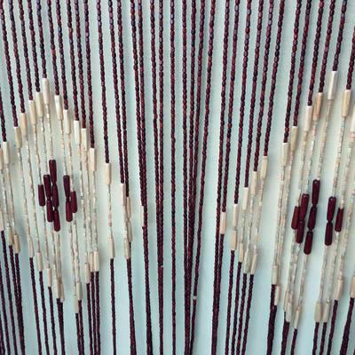 Tenda per porta KAUAI marrone 140x240 cm