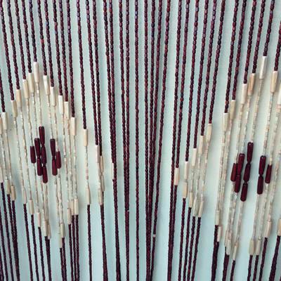 Tenda per porta KAUAI marrone 100x220 cm