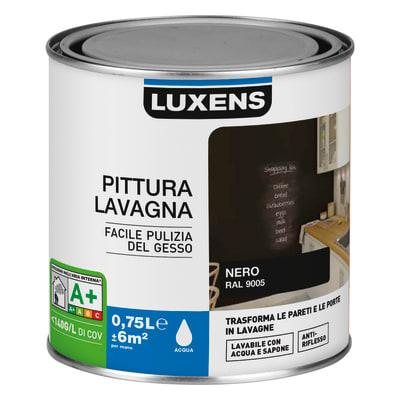 Pittura lavagna LUXENS nero 0.75 L