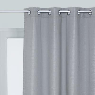 Tenda INSPIRE Diamentica argento occhielli 140 x 280 cm