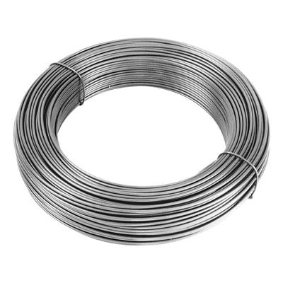 Tendifilo in acciaio galvanizzato   L 1000 x Ø 0.7 mm x H 2 cm