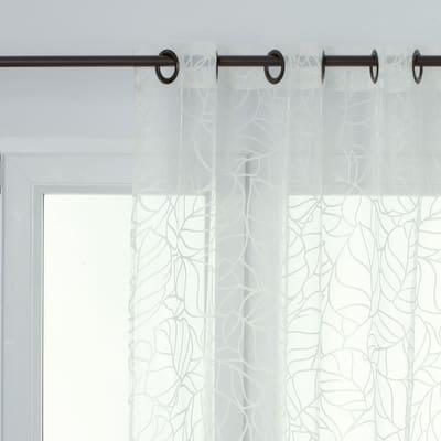 Tenda INSPIRE Palma avorio occhielli 140x280 cm