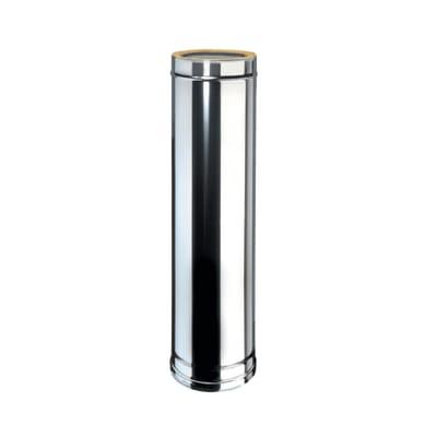 Condotto a doppia parete Tubo DP coib Aisi 316L d.100/150 in inox 316l (elevata resistenza in condizioni climatiche estreme) 100 cm