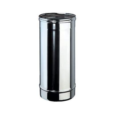 Tubo Tubo m.0,25 inox aisi 316L Dn 100 mm in inox 316l (elevata resistenza in condizioni climatiche estreme) L 25 cm x Ø 100 mm