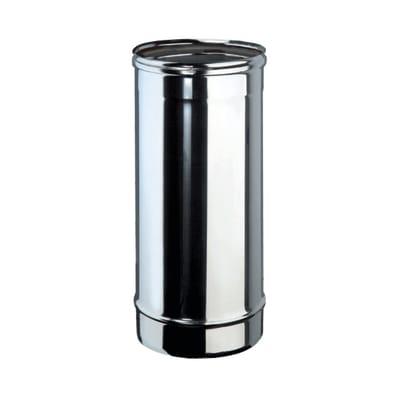 Tubo Tubo m.0,5 inox aisi 316L Dn 120 mm in inox 316l (elevata resistenza in condizioni climatiche estreme) L 50 cm x Ø 120 mm