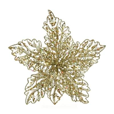 Stella Stella di Natale con molletta  H 23.5 cm, x P 10 cm, Ø 23.5 cm