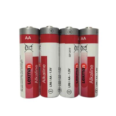 Pila LR06 AA 1.5 V LEXMAN 4 batterie