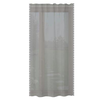 Tenda Pon pon grigio tunnel 150 x 280 cm