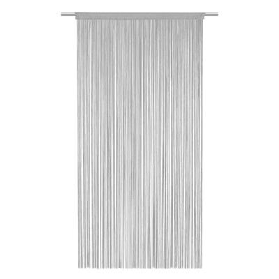 Tenda Spaghetti grigio tunnel 140x270 cm