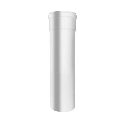 Tubo Tubo m.0,5 smaltato avorio Dn 80 mm in acciaio al carbonio smaltato L 50 cm x Ø 80 mm