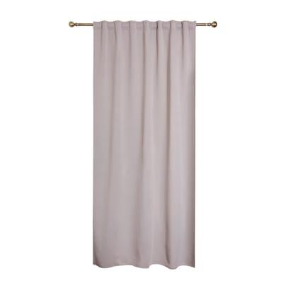 Tenda INSPIRE Oscurante grigio nastro tenda con anse nascoste 140.0 x 260.0 cm