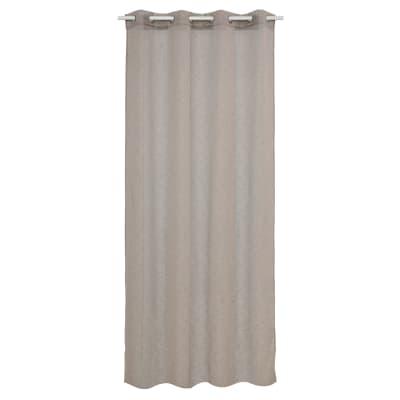 Tenda INSPIRE Vera marrone occhielli 140 x 280 cm