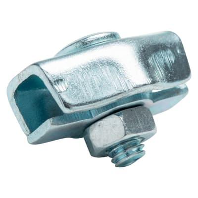 Morsetto simplex in acciaio STANDERS Sp 4 mm