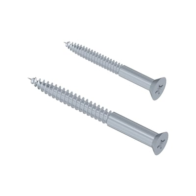 Accessori di fissaggio L 48 x H 30 cm grigio / argento