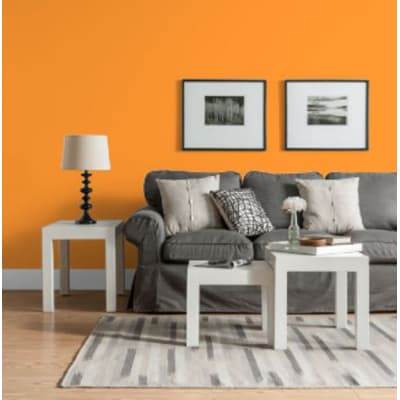 Pittura murale LUXENS 4 L arancio 5