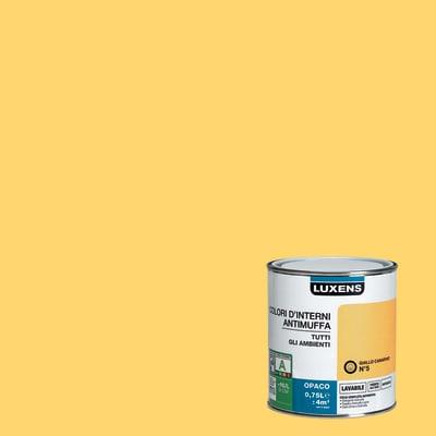 Pittura murale  antimuffa LUXENS 0.75 L giallo  canarino 5