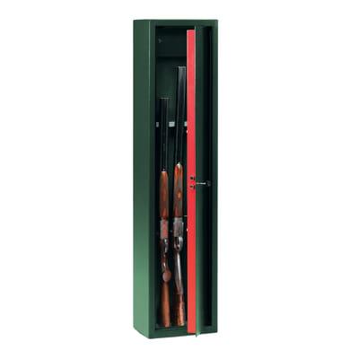 Armadietto per fucili TECHNOMAX LMK/5 31.5 X 138 X 22 cm 5 fucili
