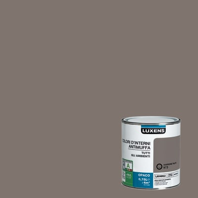 Pittura murale  antimuffa LUXENS 0.75 L marrone talpa 3
