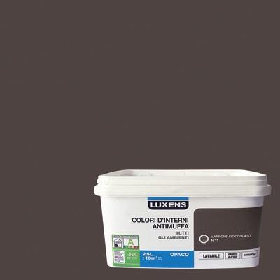 Pittura murale  antimuffa LUXENS 2.5 L marrone ciccolato 1