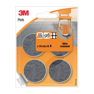 Pattino 3M SP87A36 4 pezzi Ø 34 mm