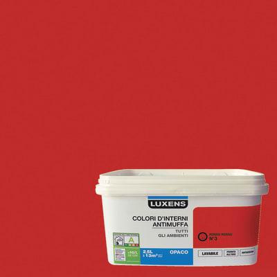 Pittura murale LUXENS 2.5 L rosso 3
