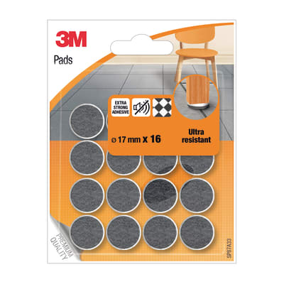 Pattino 3M SP87A33 16 pezzi Ø 17 mm