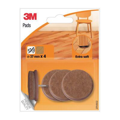 Pattino 3M SP84N32 4 pezzi Ø 37 mm