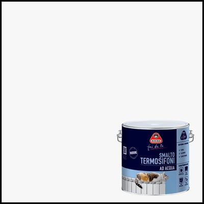 Smalto per termosifone Termosifoni bianco 2 l