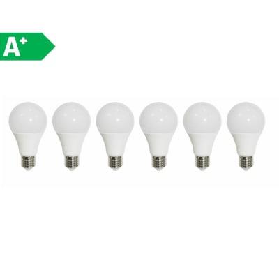 Lampadina LED E27 standard bianco tenue 9W = 806LM (equiv 60W) 150° LEXMAN