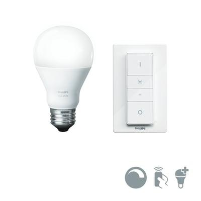 Lampadina Smart lighting LED bianco caldo E27 9.5W = 806LM (equiv 60W) 150° PHILIPS HUE