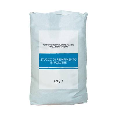Stucco in polvere Riempitivo 2.5 kg bianco