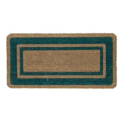 Zerbino in cocco verde 40x80 cm