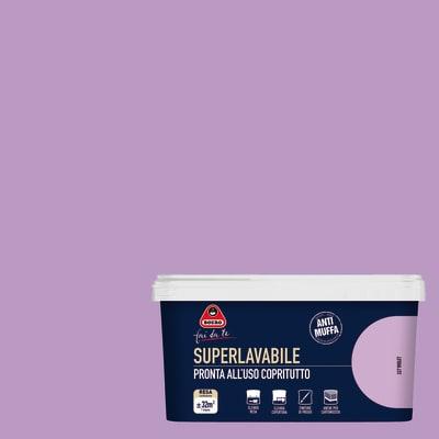 pittura murale superlavabile boero 2 5 l violet prezzi e